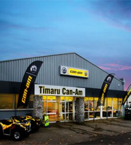 TIMARU CAN-AM store front